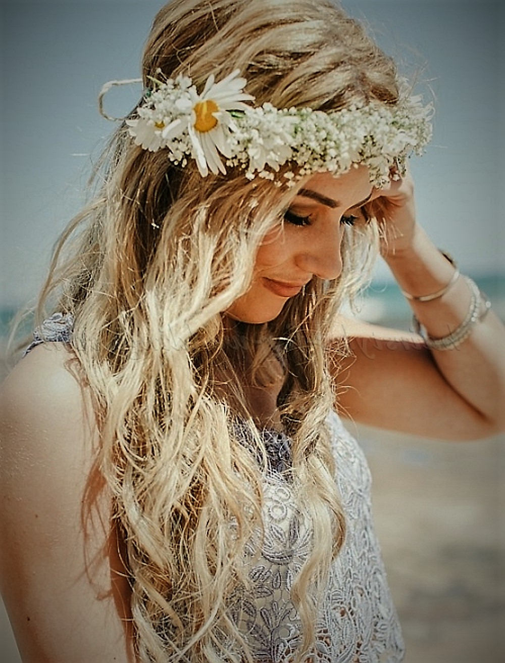 Beach Wedding Hairstyle Should Withstand The Wind Wedding